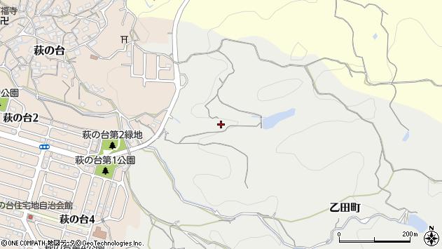〒630-0227 奈良県生駒市乙田町の地図