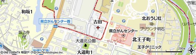 兵庫県神戸市西区玉津町(吉田)周辺の地図