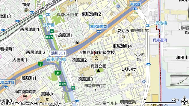 〒653-0024 兵庫県神戸市長田区浜添通の地図