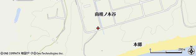 愛知県豊橋市伊古部町(南椎ノ木谷)周辺の地図
