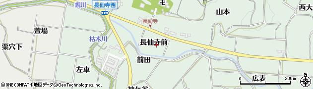 愛知県田原市六連町(長仙寺前)周辺の地図