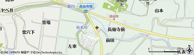 愛知県田原市六連町(前田)周辺の地図