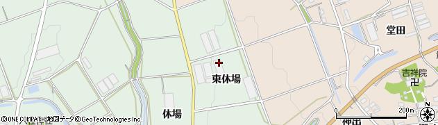 愛知県豊橋市城下町(東休場)周辺の地図