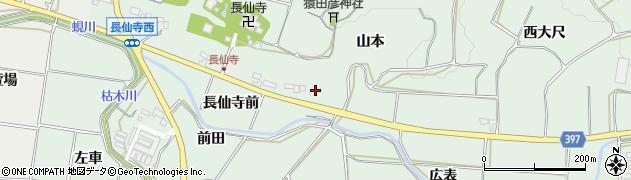 愛知県田原市六連町(山本)周辺の地図