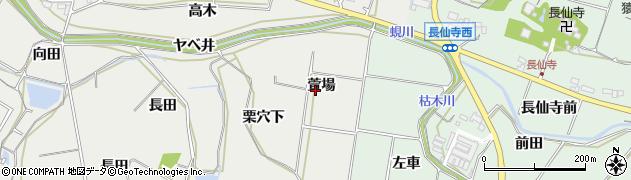 愛知県田原市相川町(萱場)周辺の地図