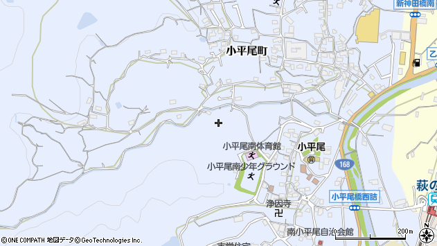 〒630-0226 奈良県生駒市小平尾町の地図