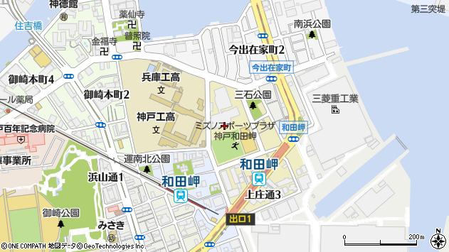 〒652-0862 兵庫県神戸市兵庫区上庄通の地図