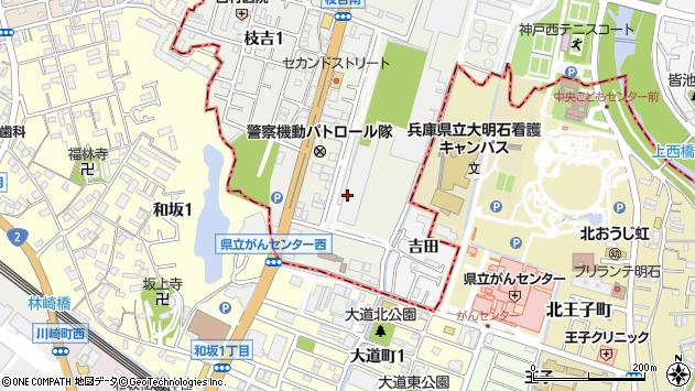 〒651-2132 兵庫県神戸市西区森友の地図