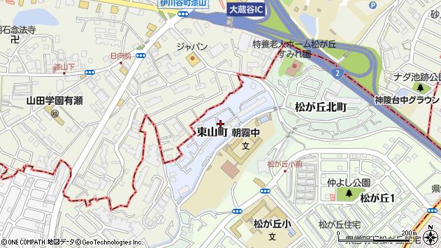 〒673-0868 兵庫県明石市東山町の地図