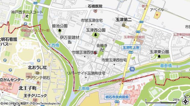 〒651-2126 兵庫県神戸市西区玉津町上池の地図