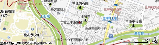 兵庫県神戸市西区玉津町(上池)周辺の地図