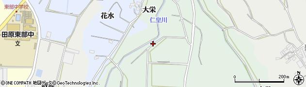 愛知県田原市六連町(神ノ釜)周辺の地図