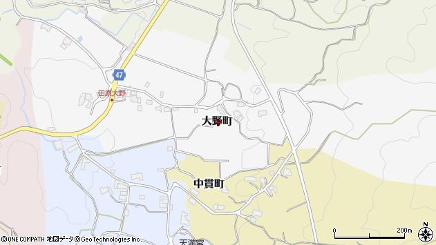 〒630-2161 奈良県奈良市大野町の地図