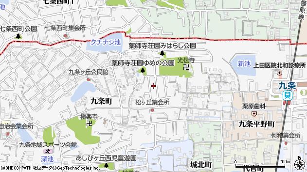 〒639-1001 奈良県大和郡山市九条町の地図