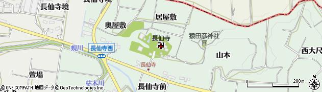 愛知県田原市六連町(居屋敷)周辺の地図