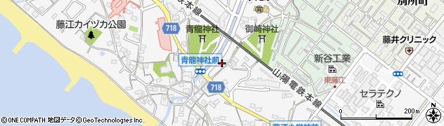 兵庫県明石市藤江別所谷周辺の地図