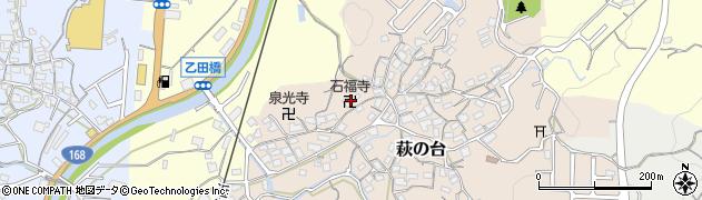 石福寺周辺の地図