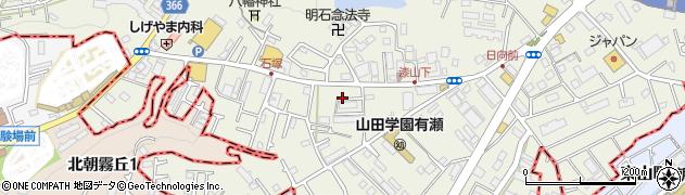 NTT社宅周辺の地図