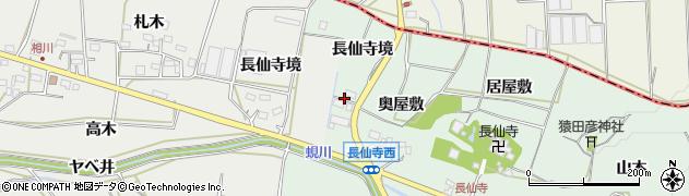 愛知県田原市六連町(長仙寺境)周辺の地図