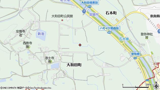 〒631-0055 奈良県奈良市大和田町の地図