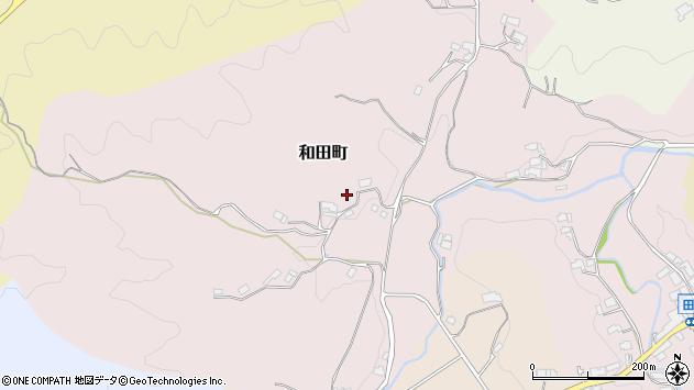 〒630-2176 奈良県奈良市和田町の地図