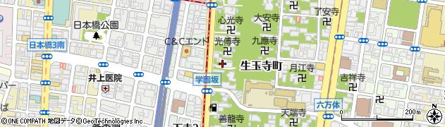 超心寺周辺の地図