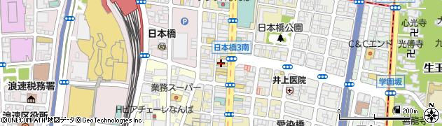 信長書店日本橋店周辺の地図
