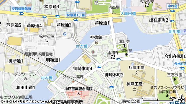 〒652-0852 兵庫県神戸市兵庫区御崎本町の地図