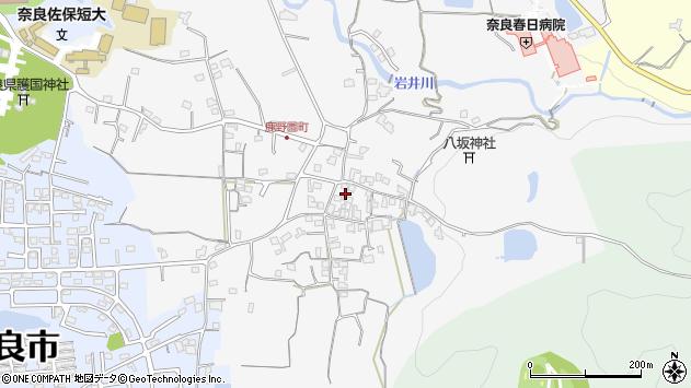 〒630-8425 奈良県奈良市鹿野園町の地図