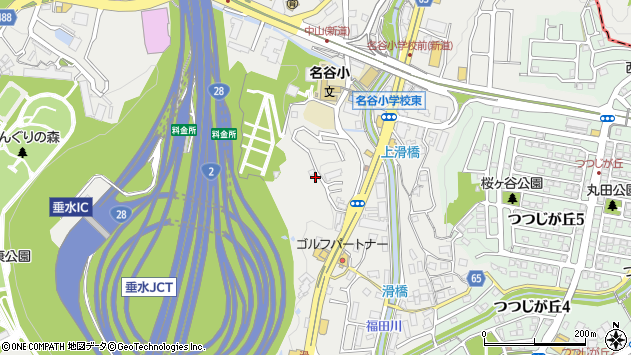 〒655-0852 兵庫県神戸市垂水区名谷町の地図