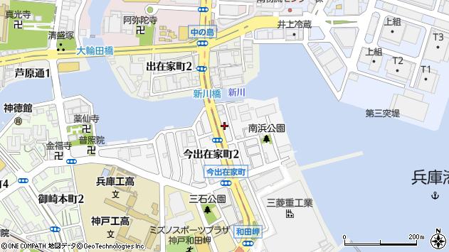 〒652-0853 兵庫県神戸市兵庫区今出在家町の地図