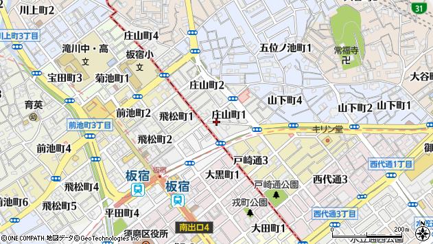 〒653-0853 兵庫県神戸市長田区庄山町の地図