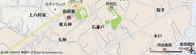 愛知県田原市加治町(石井戸)周辺の地図