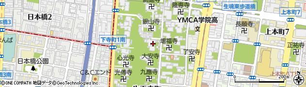 大宝寺周辺の地図