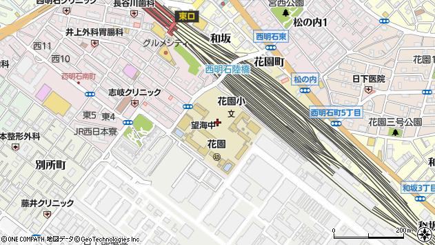〒673-0041 兵庫県明石市西明石南町の地図