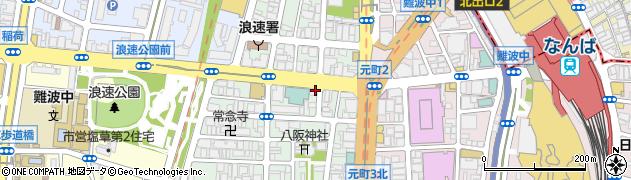 IZATO整体院周辺の地図