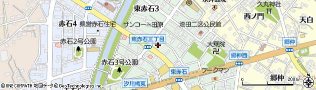 すし花館小僧寿し 田原赤石店周辺の地図