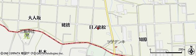 愛知県豊橋市杉山町(日ノ出松)周辺の地図