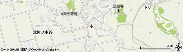 愛知県豊橋市伊古部町(小鮒ヶ谷)周辺の地図