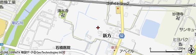 兵庫県神戸市西区玉津町(新方)周辺の地図