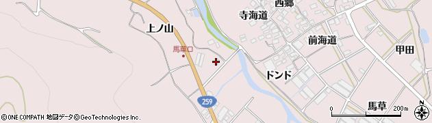 愛知県田原市野田町(塩谷坪)周辺の地図