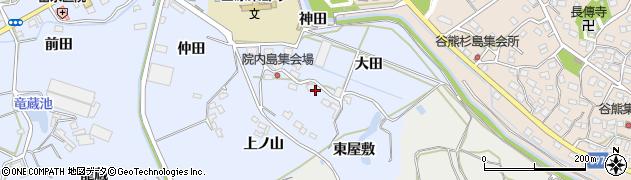 愛知県田原市豊島町(神田)周辺の地図