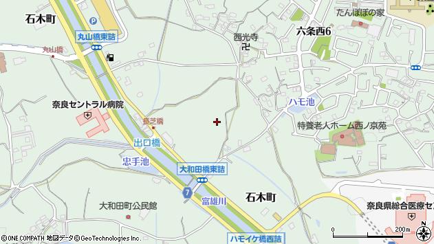 〒631-0054 奈良県奈良市石木町の地図