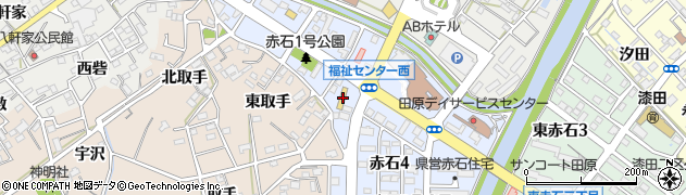 ラーメン広場麺福周辺の地図