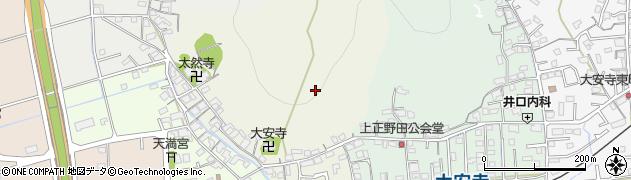 岡山県岡山市北区大安寺西町周辺の地図