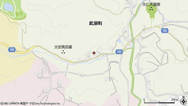 〒630-2177 奈良県奈良市此瀬町の地図