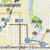 岡山シンフォニーホール西側駐車場