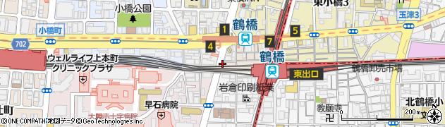 大阪府大阪市天王寺区下味原町周辺の地図