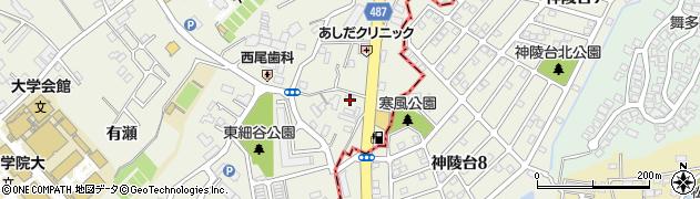 金十朗周辺の地図