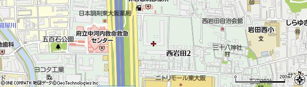 八戸ノ里ニュースカイハイツ周辺の地図